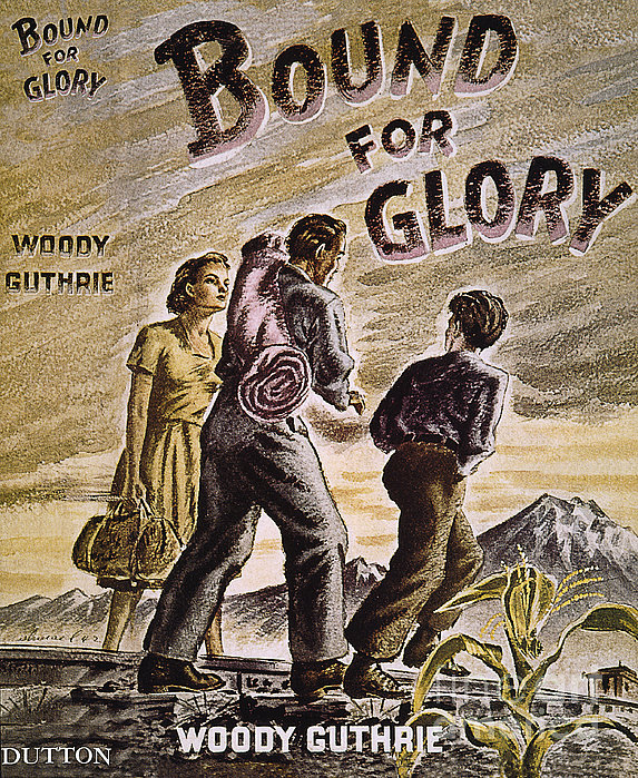 Woody Guthrie: Glory, 1943 Print by Granger