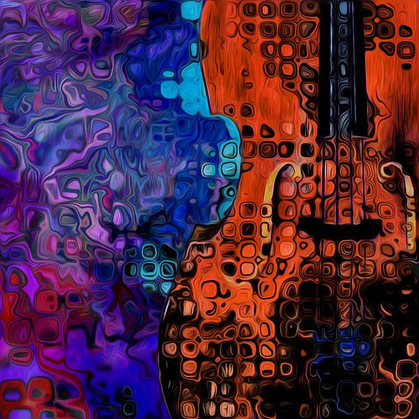 Woody Sound Print by Jack Zulli