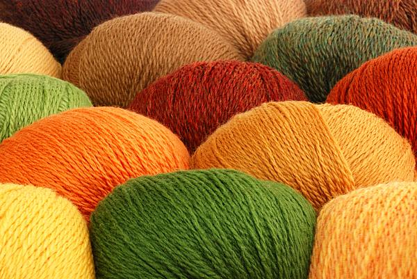 Wool Yarn Print by Jim Hughes