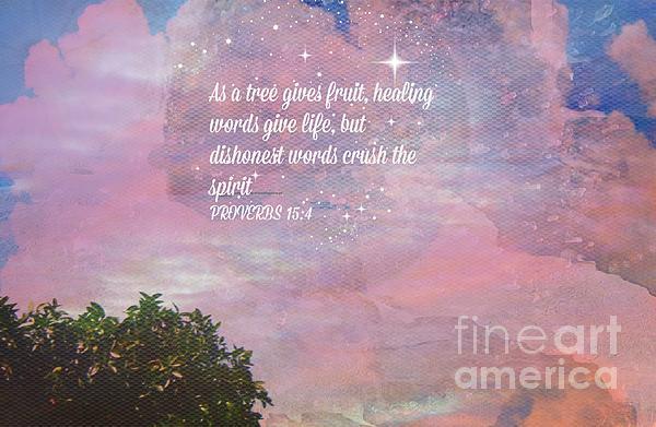 Words Of Wisdom Print by Sherri  Of Palm Springs