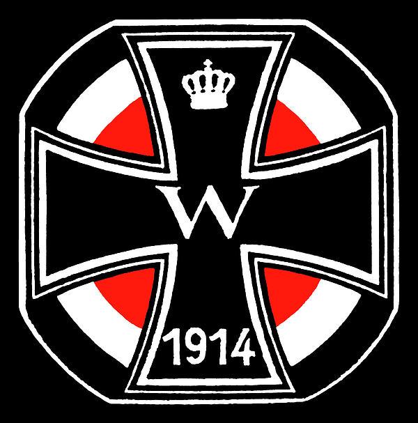 World War One Iron Cross Print by Historic Image