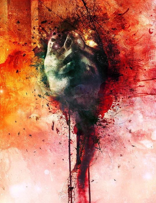 Wounds Print by Mario Sanchez Nevado