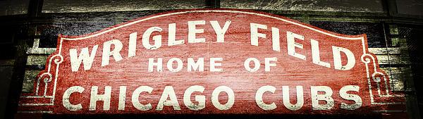 Stephen Stookey - Wrigley Field Sign - No.2