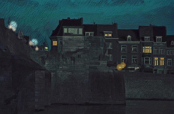 Wyck By Night Print by Nop Briex