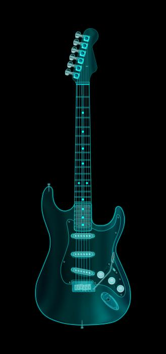 Michael Tompsett - X-Ray Electric Guitar