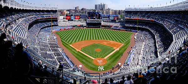 Yankee Stadium 1 Print by Bob Stone