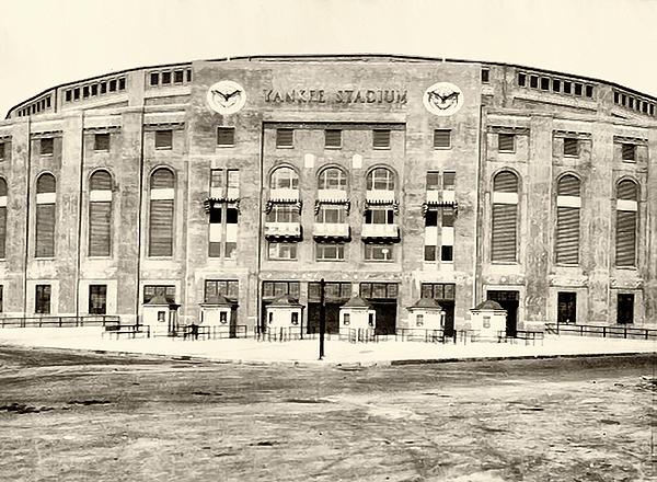 Yankee Stadium Print by Bill Cannon