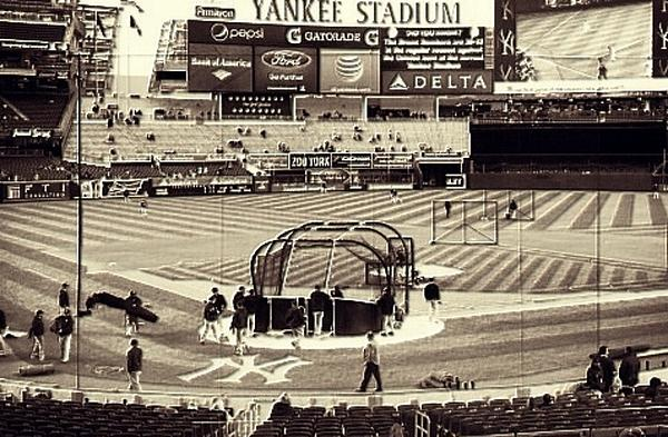 Yankee Stadium Print by CD Kirven