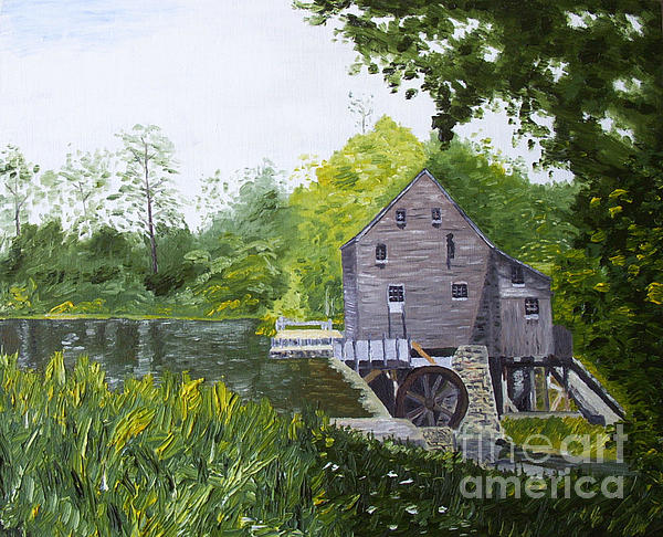 Yates Mill Summer Print by Kevin Croitz