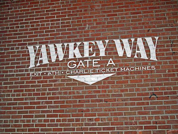 Yawkey Way Print by Barbara McDevitt