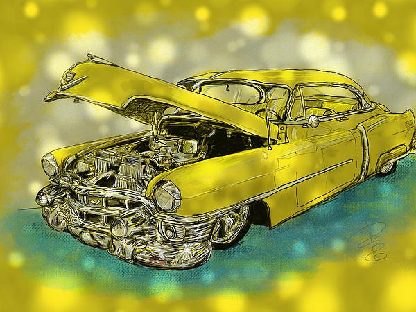 Debra Baldwin - Yellow Cad