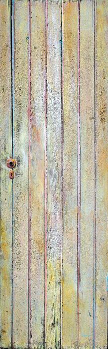 Yellow Door Print by Asha Carolyn Young
