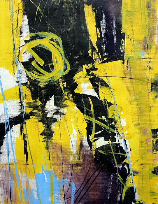 Yellowtale Print by Katie Black