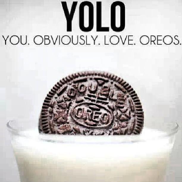 #yolo #oreo #youobviouslyloveoreo by Alyson Schwartz