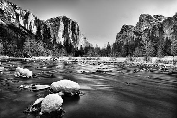 Yosemite Valley Print by Peter Dang