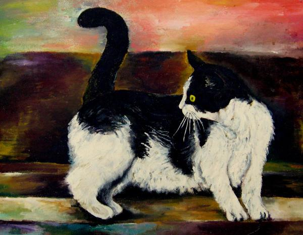 Your Pets Commission Me To Paint Print by Carole Spandau