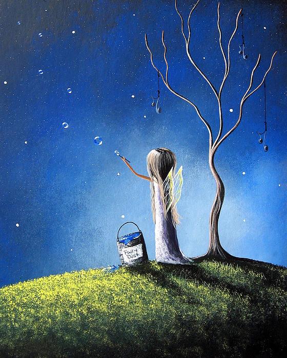 Your Wish Comes True Tonight By Shawna Erback Print by Shawna Erback