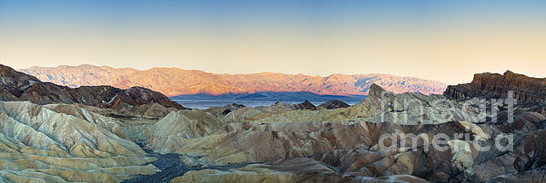 Zabriskie Point Panorana Print by Jane Rix
