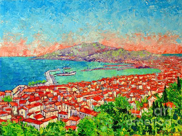 Ana Maria Edulescu - Zakynthos Sunset Light View From Bohali Hill