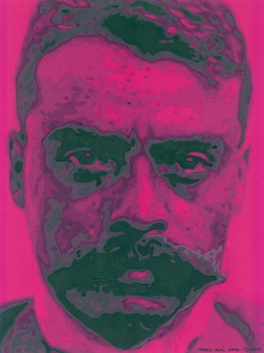 Zapata Intenso Print by Roberto Valdes Sanchez