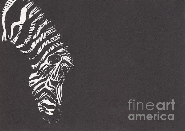 Zebra Print by Alexis Sobecky