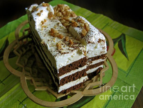 Zebra Cake Print by Ausra Paulauskaite