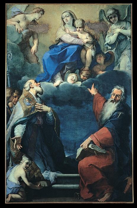 Zoboli Giacomo, Madonna And Child Print by Everett