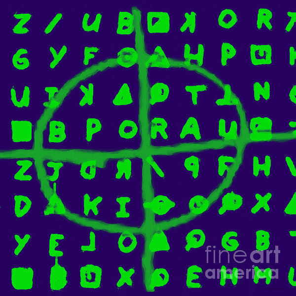 Zodiac Killer Code And Sign 20130213p128 Print by Wingsdomain Art and Photography
