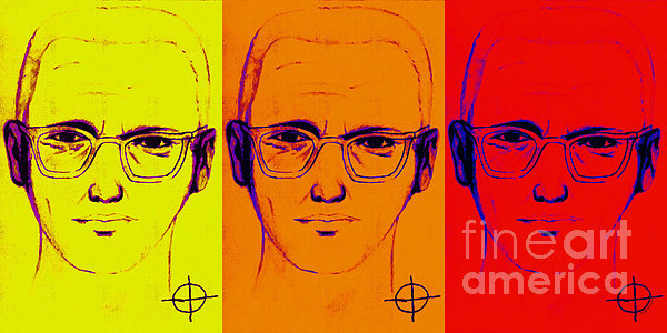 Zodiac Killer Three With Sign 20130213 Print by Wingsdomain Art and Photography