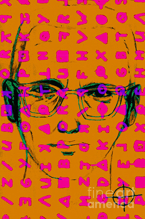 Zodiac Killer With Code And Sign 20130213m80 Print by Wingsdomain Art and Photography