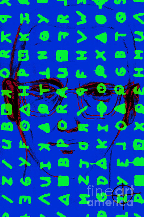 Zodiac Killer With Code And Sign 20130213p98 Print by Wingsdomain Art and Photography