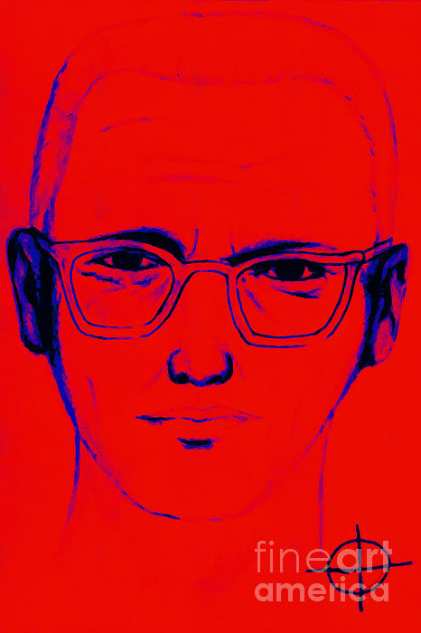 Zodiac Killer With Sign 20130213m128 Print by Wingsdomain Art and Photography