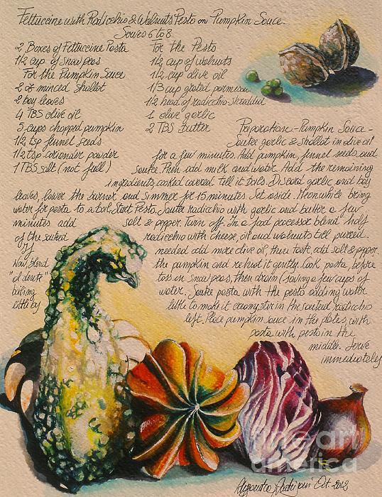 Zucche-pumpkin Print by Alessandra Andrisani