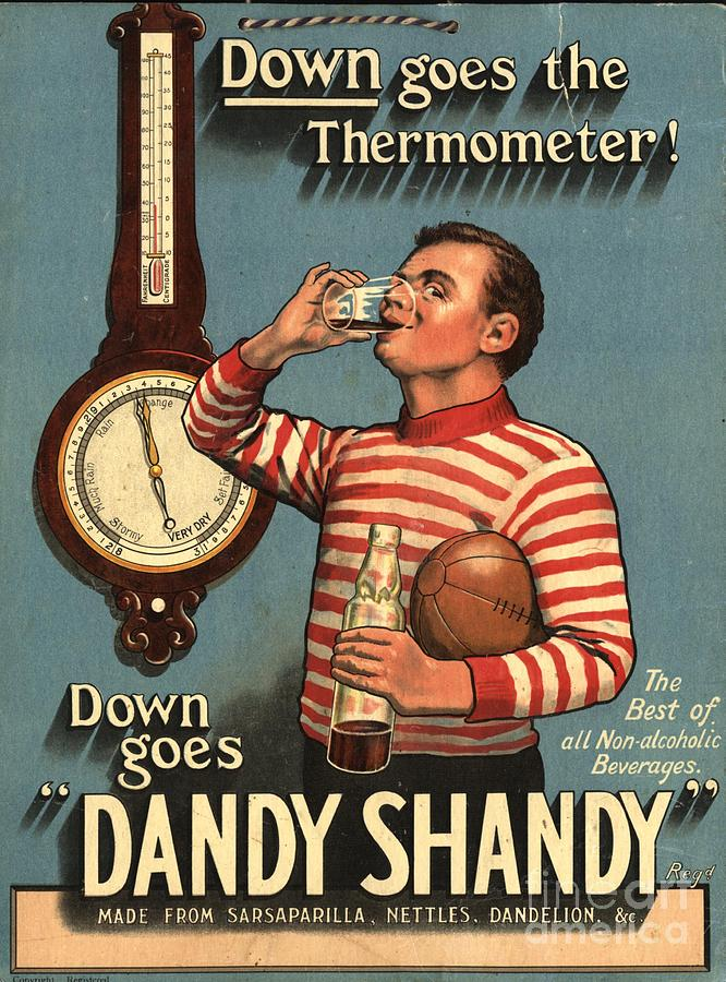1920�s Drawing -  1920s Uk Dandy Shandy Sarsaparilla by The Advertising Archives