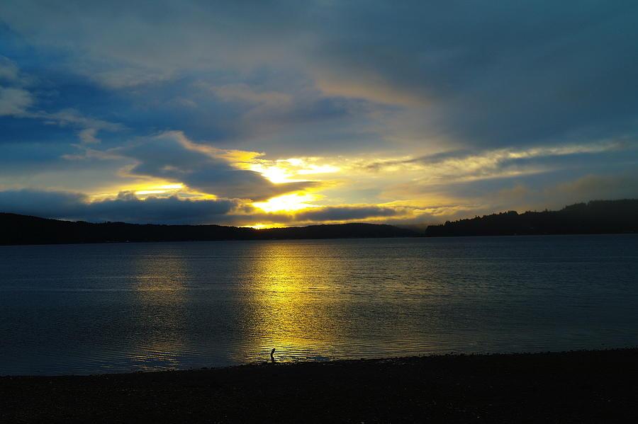 A Slow Sun Rise  Photograph