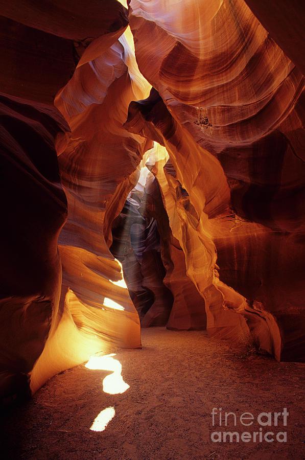 Antelope Canyon Ray Of Hope Photograph