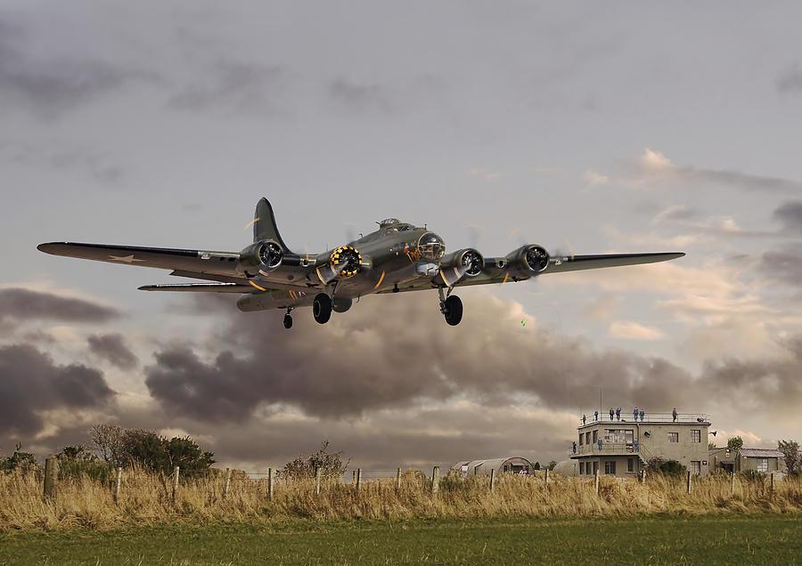 B17- airborne Photograph