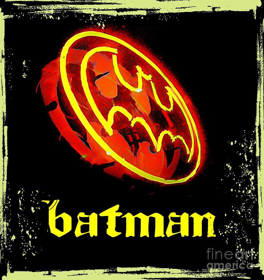 Batman In Halifax Digital Art