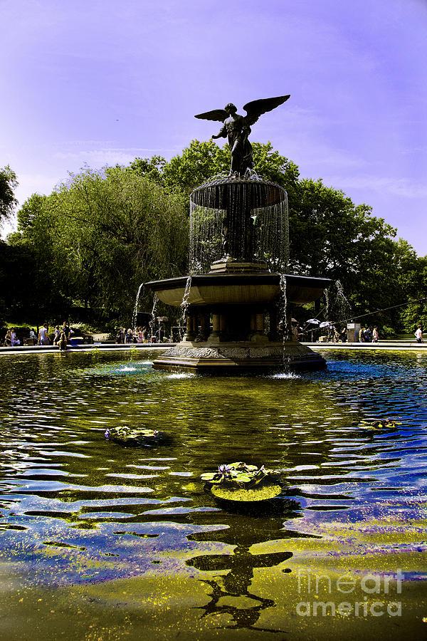 Bethesda Fountain - Central Park  Photograph