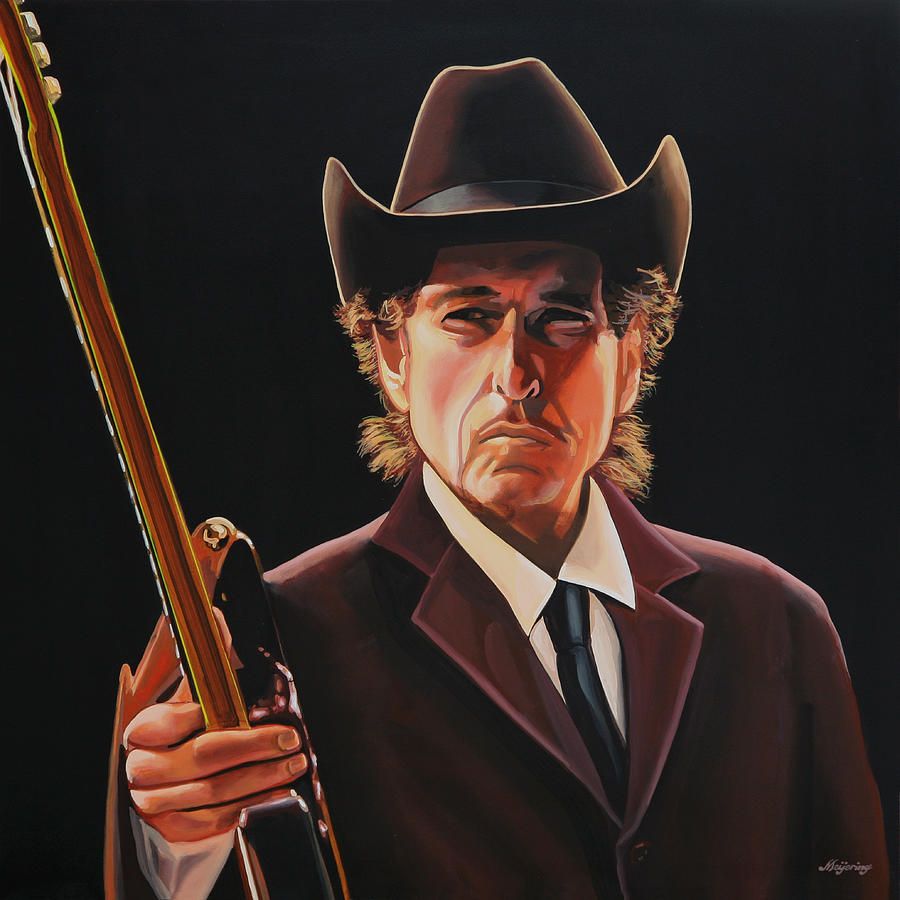 Bob Dylan 2 Painting