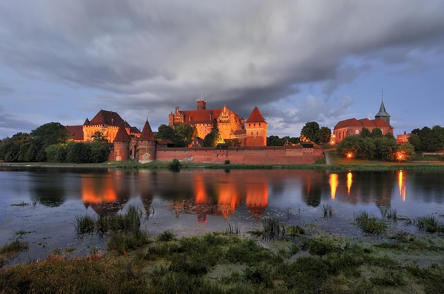 A Huge Castle Photograph -  Castle by Jan Sieminski