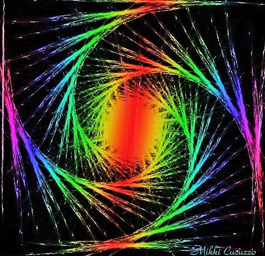 Colorful Fractals Photograph