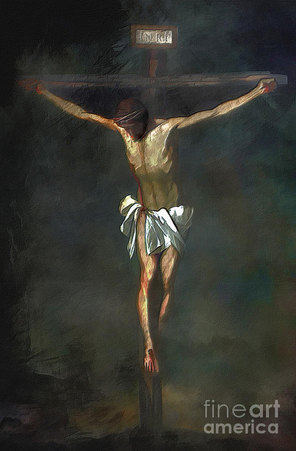 Crucifixion Painting  -  Crucifixion Fine Art Print