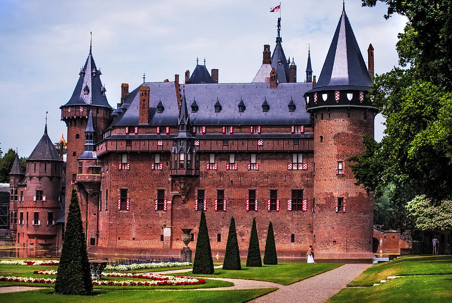 Utrecht Photograph -  De Haar Castle 4. Utrecht. Netherlands by Jenny Rainbow