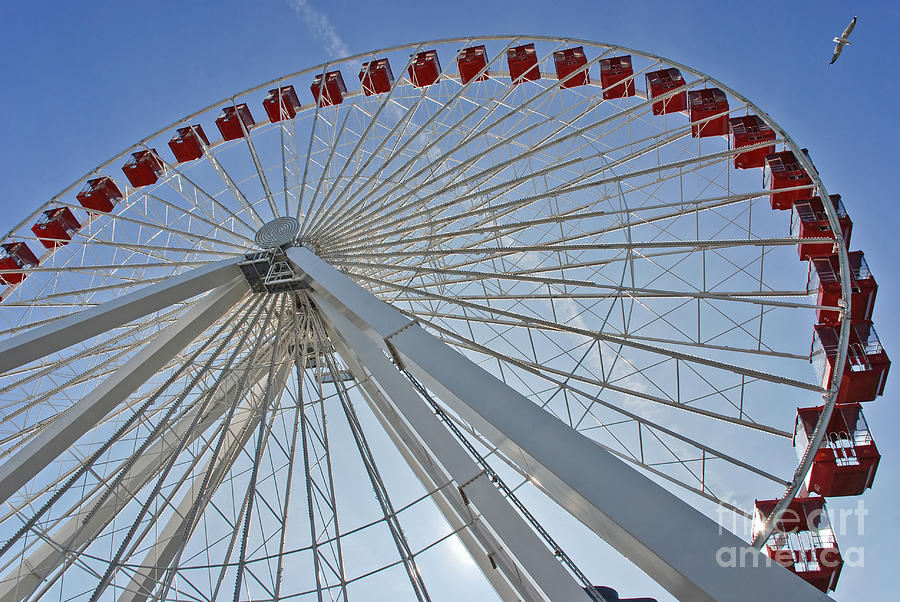 Sight Photograph -  Ferris Wheel by Oleksandr Koretskyi