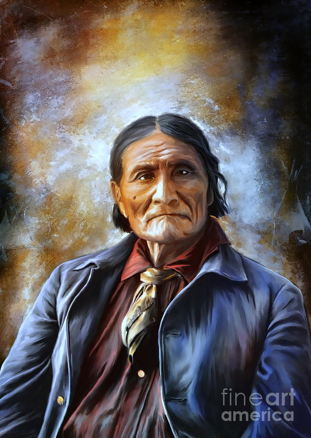 Geronimo Painting