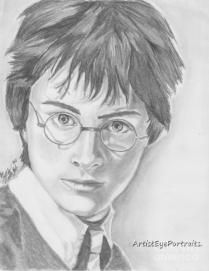 Harry Potter Drawing By Nathaniel Bostrom