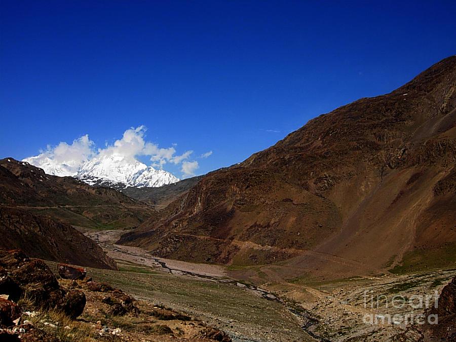 Rivers In Lahaul Spiti  Nature Cold Place Etc Pyrography -  Lahaul Spiti by Chandrashekhar Hegde
