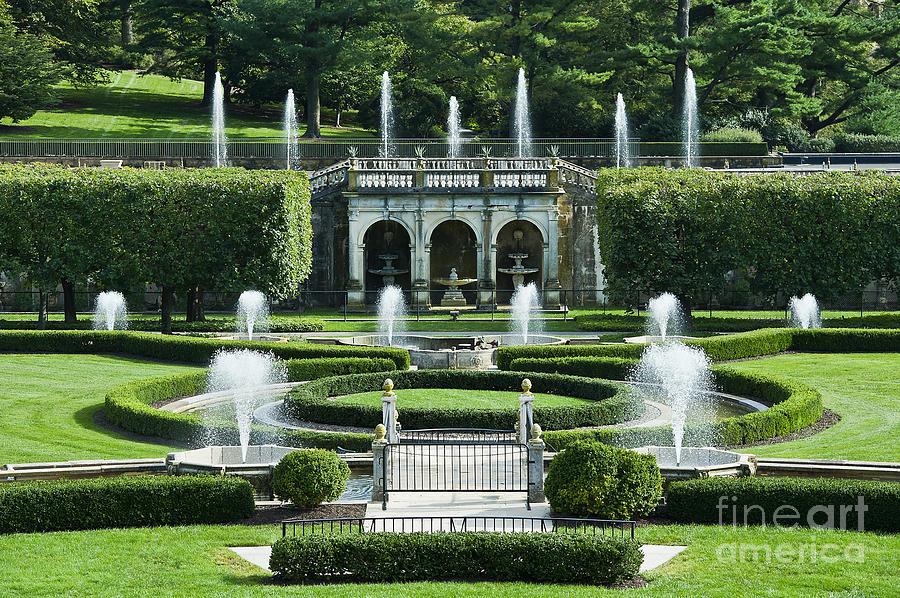 Longwood Gardens Fountains Photograph By John Greim