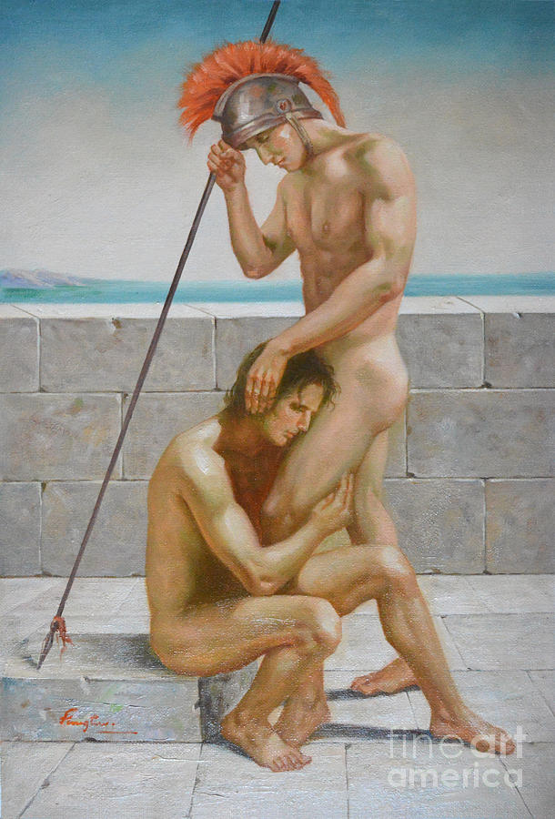 Very valuable Naked male nody paintings remarkable, this
